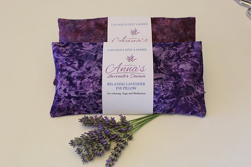 Relaxing Lavender Eye Pillow with Removable Cover design
