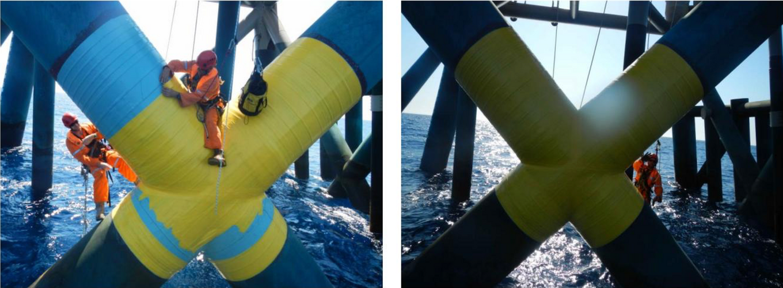 Application of Wrap PVC