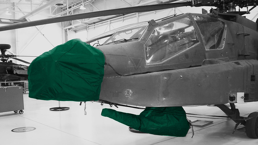 Corrosion Inhibitors (VpCIs) sullied by Presserv, Aberdeen UK, allow the slowing of corrosion attack on aircraft from multiple angles.