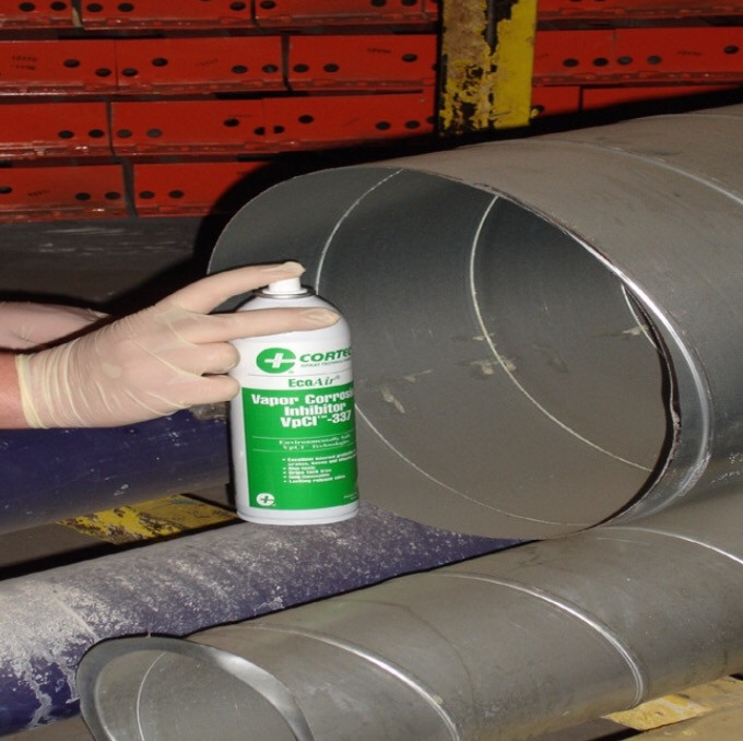 VpCI-337 available from Presserv, Aberdeen, provides multi-metal corrosion protection for hot/cold-rolled steel, silicon steel, stainless steel, cast iron, zinc, aluminum, copper and brass. Leaves a thin, self-healing film that is environmentally approved for use and ready-to-use.