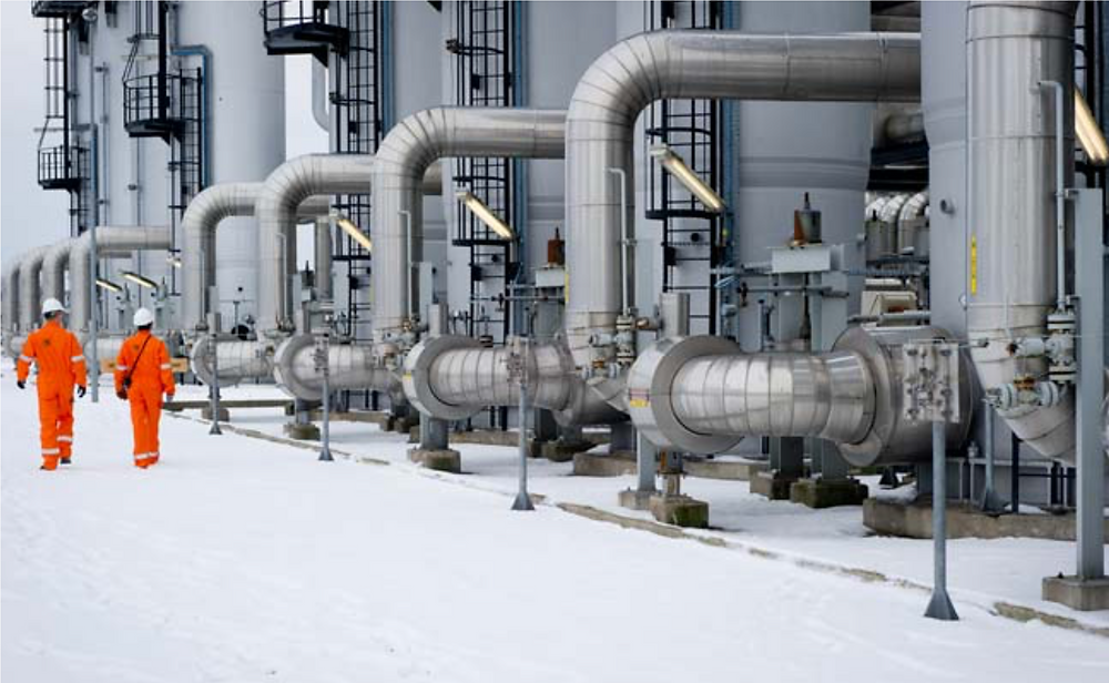 Presserv, Aberdeen, solve the problem of the corrosive nature of gas distributed from the TAQA Bergermeer facility by using a VpCI solution proven to control the pH of the gas as it travels through the process pipework.