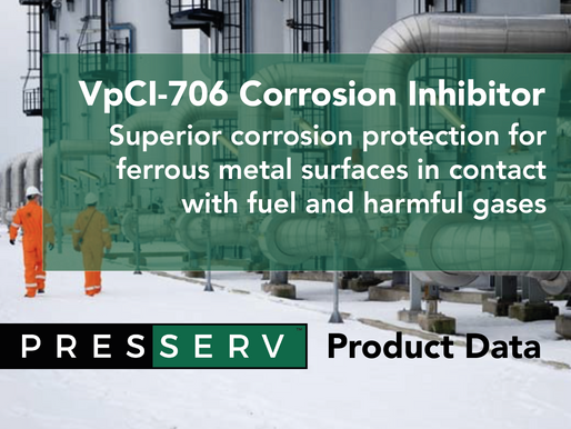 Superior protection for ferrous metals in contact with fuel and corrosive gases