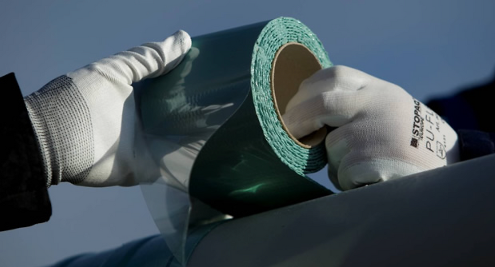 STOPAQ Wrappingband from Presserv, Aberdeen, provides maintenance free corrosion protection for a lifetime.