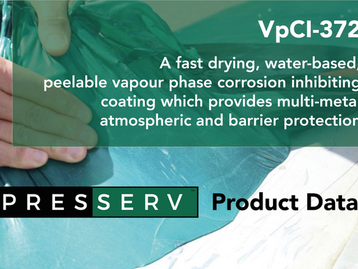 VpCI-372 - for temporary protection of metal parts against corrosion in harsh, outdoor conditions