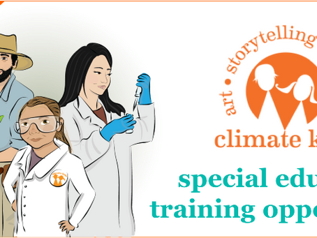 Special Climate Kids Educator Training Opportunity! Register Today!