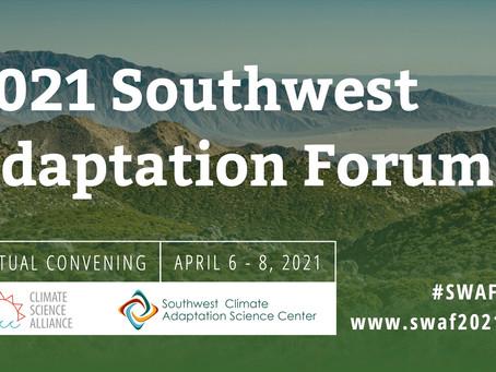 Celebrating Transformational Adaptation - 2021 Southwest Adaptation Forum