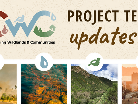 Connecting Wildlands & Communities Project Shares Exciting Team Updates!
