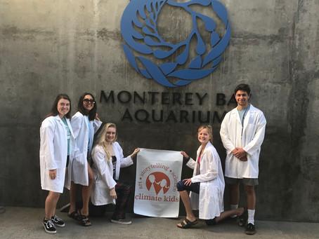 Climate Kids Participate in Monterey Bay Aquarium's Ocean Plastic Pollution Summit