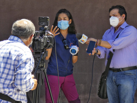 Telemundo interviews Climate Kids - Mexico Team