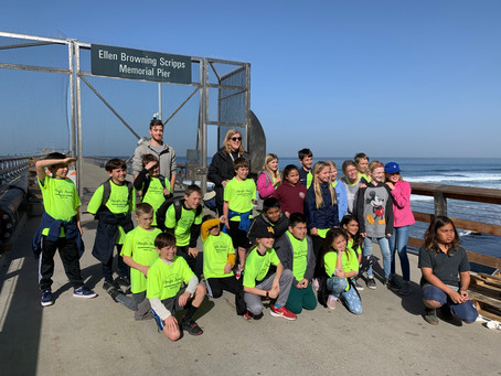 Climate Science Alliance and NSF CAICE Team host Climate Kids SCOPE Field Trip