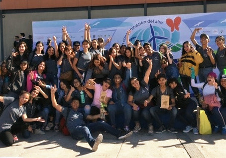Climate Kids Mexico Team Reaches Thousands of Students at Expo Ambiente 2019