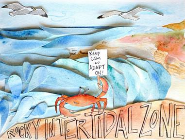 Ocean Acidification Watercolors