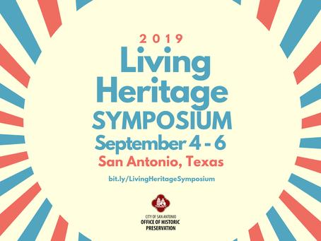 Dr. Rivera-Collazo Presents at the Living Heritage Symposium in San Antonio
