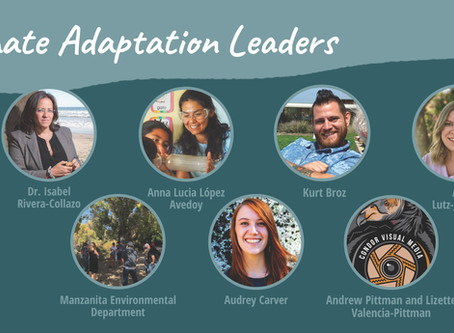 Congratulations to the 2020 Climate Adaptation Leaders!