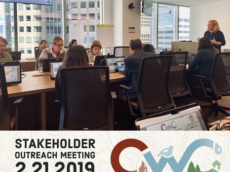 The CWC Team Met with Partners in Los Angeles at the 2nd Stakeholder Workshop