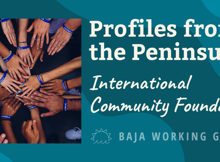 Profiles from the Peninsula: International Community Foundation