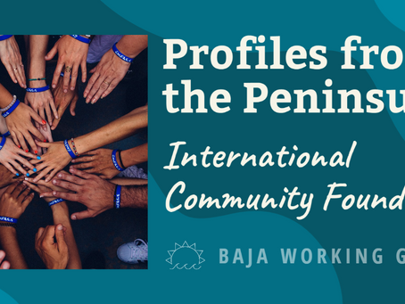 Profiles from the Peninsula: International Community Foundation