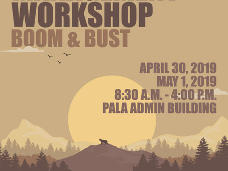 Don't Miss the Pala Riparian Workshop on April 30 & May 1st!