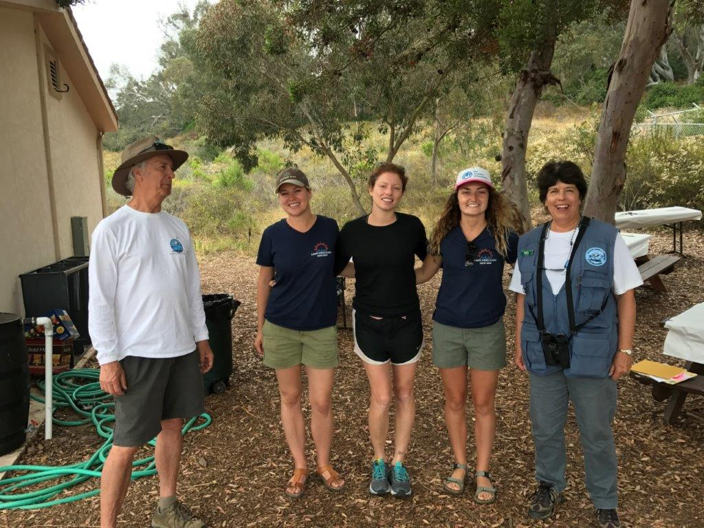 Climate Kids fm Pauma at Batiquitos (1) Kathy, Marina, Laura, Bill
