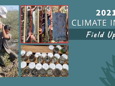 Messy. Muddy. Mangroves. 2021 Climate Intern Field Update