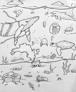 Climate Change and Marine Conservation Sketch