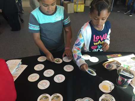 Climate Kids at Elementary Institute of Science Open House