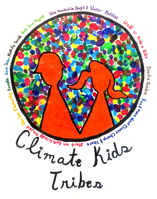 Climate Kids-Tribes Fingerpainting