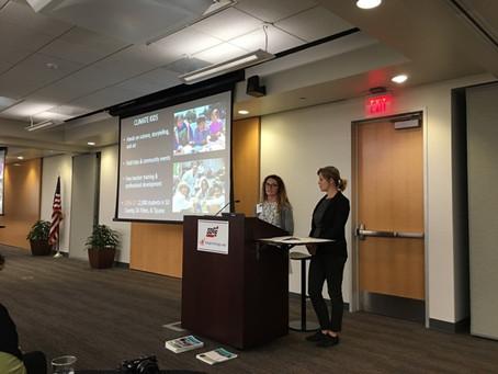 CSA Staff speak at SDG&E's Environmental Champions Kickoff