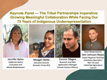 Climate Science Alliance Contributes to First Tribal Panel at  CARCD Event