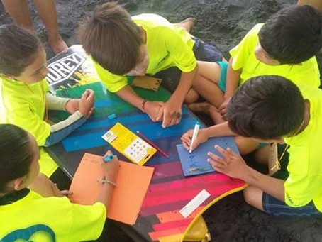Climate Kids-Mexico Joins Forces with Out of the Boat Swim