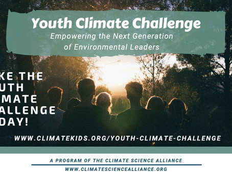 Announcing the Youth Climate Challenge - Empowering the Next Generation of Environmental Leaders!