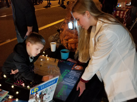 Climate Kids Featured on KUSI at PB EcoDistrict Holiday Lane