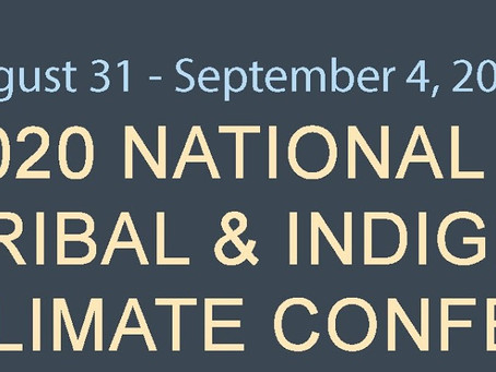 National Tribal & Indigenous Climate Conference: Call for Proposals Open!
