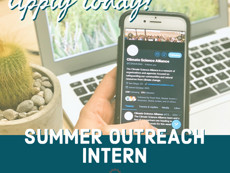 Apply Today for Our Summer Outreach Internship!