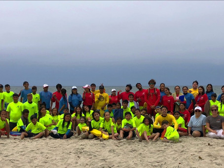 Climate Kids-Mexico Teams Up with Out of the Boat Swim for Underprivileged Youth Summer Camp