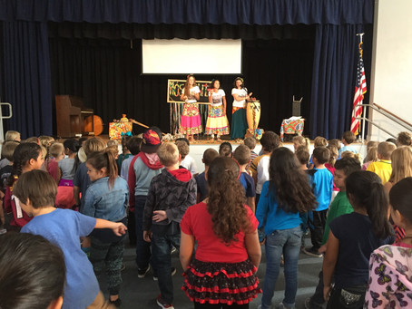Schools Learn About Climate Change Through Song and Dance with Alliance Partner, Nos de Chita