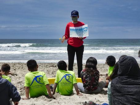 Climate Kids México lleva a cabo limpieza de playa con grupo de jóvenes de Casa Hogar EUNIME