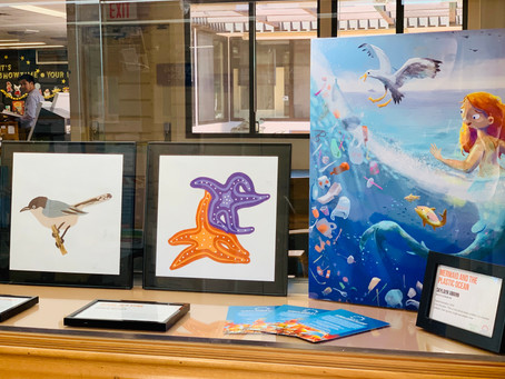 """""""Art of Change"""" at Allied Gardens Library through September!"""