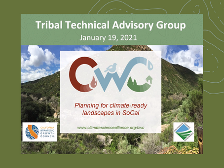 Tribal Working Group Convenes to Review CWC Project Tools