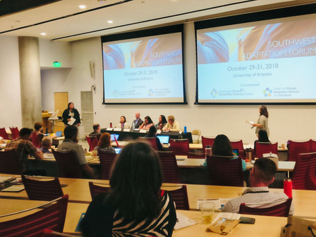 Alliance Director Facilitates Panel at Inaugural Southwest Adaptation Forum