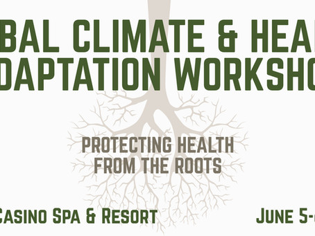 Register Today for the Tribal Climate & Health Adaptation Workshop!