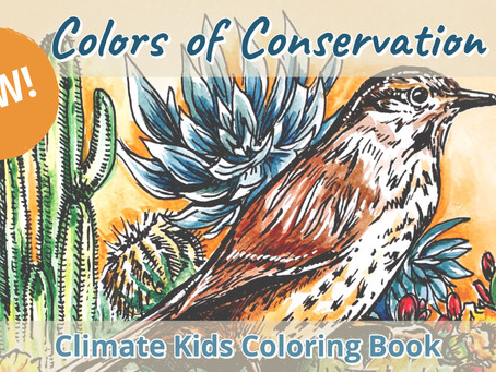 New from Climate Kids - Colors of Conservation Coloring Book!