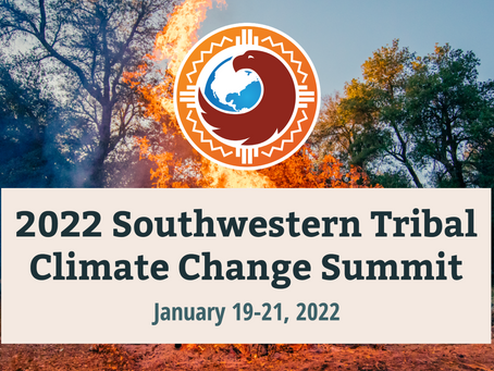 Support the 2022 Southwestern Tribal Climate Change Summit Today!
