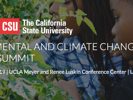 Climate Science Alliance Attends Environmental and Climate Change Literacy Summit