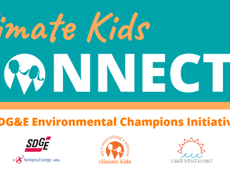 Climate Kids Program Receives SDG&E 2020 Environmental Champions Grant
