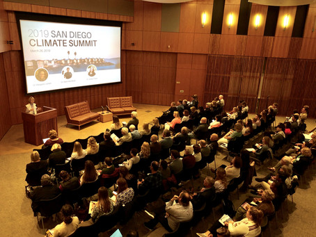 Reflections on the 2019 San Diego Climate Summit
