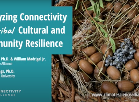 Connectivity Challenge: Catalyzing Connectivity for Tribal Cultural and Community Resilience