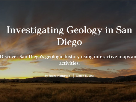 Partner Post: Investigating Geology in San Diego