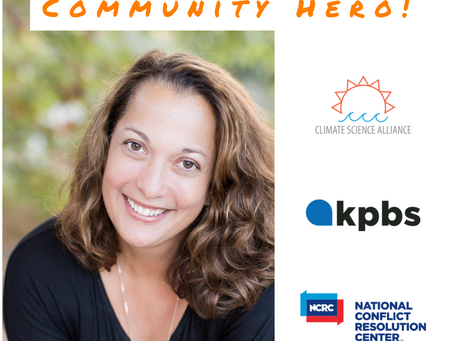 Climate Science Alliance Director Named KPBS Community Hero
