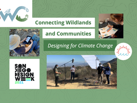 """Save the Date! San Diego Design Week Features """"Connecting Wildlands and Communities"""" Project"""